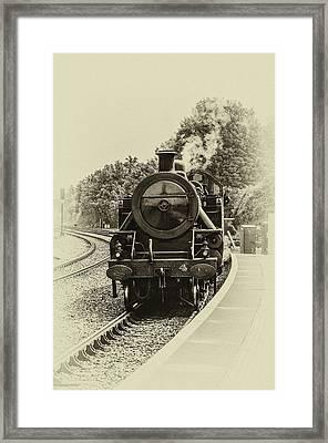 Lms Ncc Class Wt 2 6 4t No 4 Framed Print