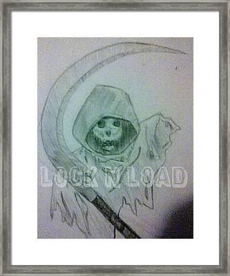 Lnl Reaper Specter Framed Print