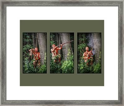 Load Aim Fire  Framed Print by Randy Steele