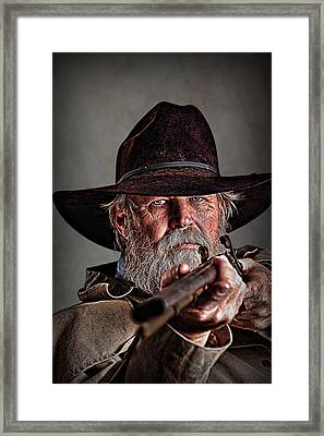 Loaded And Ready Framed Print by Tommy Simpson