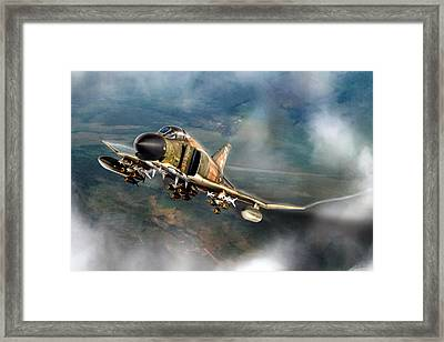 Loaded For Bear Framed Print by Peter Chilelli