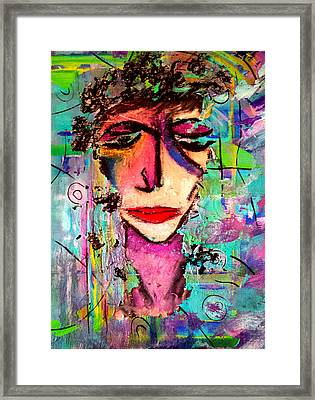 Lost In Thought Framed Print by Nikki Dalton