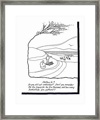 Loaves And Fishes Framed Print by Rich Brumfield