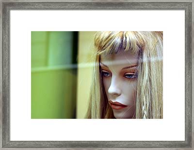 Lobo Framed Print by Jez C Self