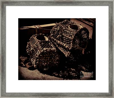 Lobster And Crabs Framed Print by Baggieoldboy