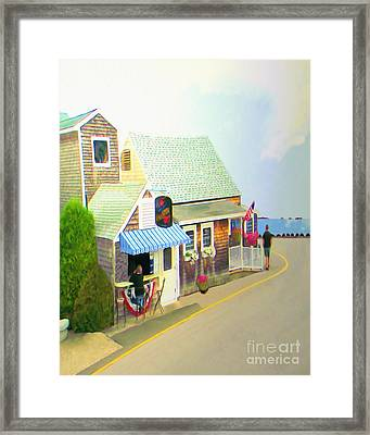 Lobster Shack Framed Print by Richard Stevens