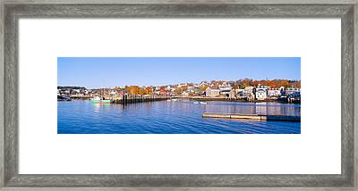 Lobster Village, Stonington, Maine Framed Print by Panoramic Images
