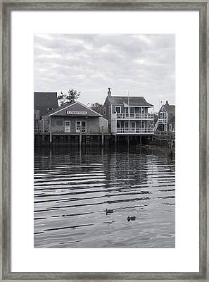 Lobsters - Nantucket Massachusetts Framed Print
