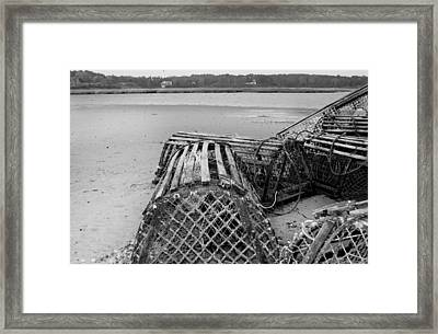 Lobstertrap Framed Print by Dapixara Art