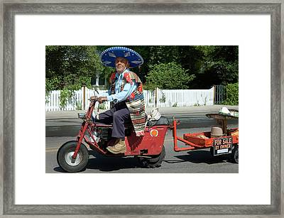 Local Color Framed Print by Jerry McElroy