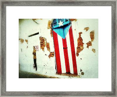 Local Colors Framed Print by Olivier Calas
