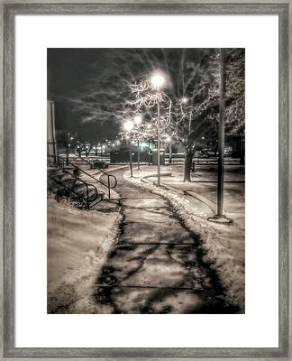 Local Library Framed Print by Dustin Soph