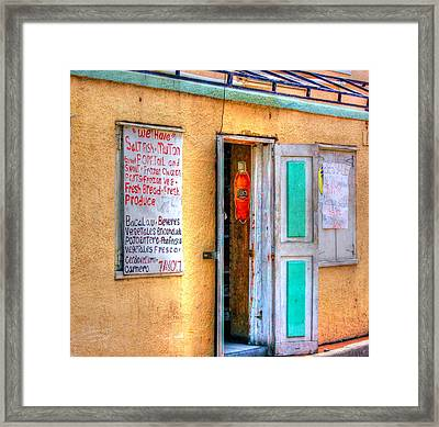 Local Store Framed Print by Debbi Granruth