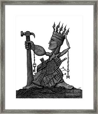 Local Tyrant  Framed Print by Vitaliy Gonikman