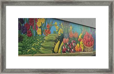 Locally Grown Framed Print by Ann Horn