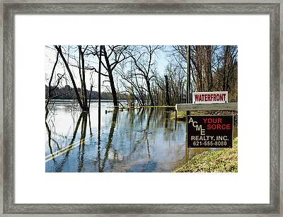 Location Location Location Framed Print by Ross Powell