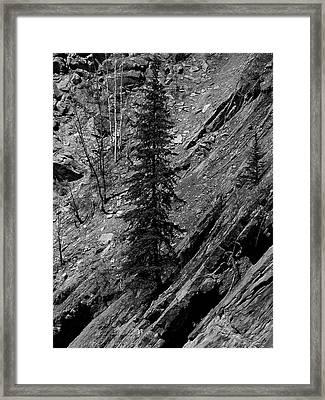 Framed Print featuring the digital art Location Location Location by Stuart Turnbull