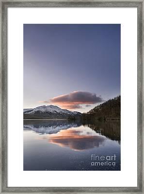 Loch Achray And Ben Venue 1 Framed Print