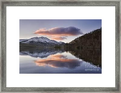 Loch Achray And Ben Venue 2 Framed Print