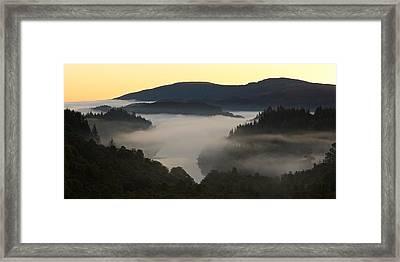 Loch Achray Sunrise Framed Print by Stephen Taylor