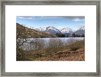 Loch Arklet In Inversnaid Framed Print by Jeremy Lavender Photography