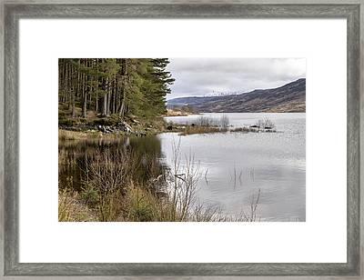 Loch Arklet Shore Framed Print by Jeremy Lavender Photography