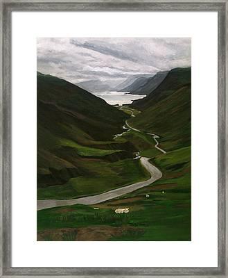 Loch Assynt Framed Print by Jesslyn Fraser