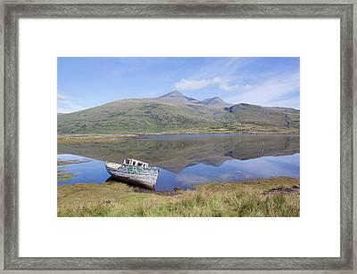 Loch Beg Reflections Framed Print
