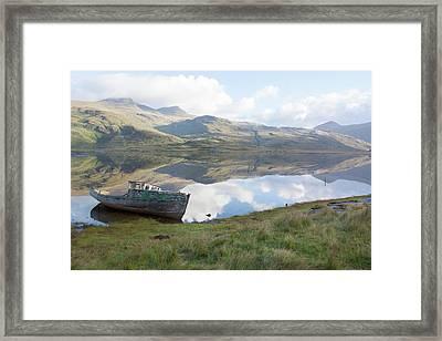 Loch Beg Reflects Framed Print