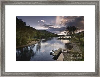 Loch Earn 1 Framed Print by Rod McLean