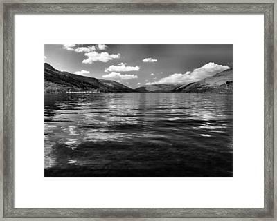 Loch Earn Scotland Framed Print by Fraser Davidson