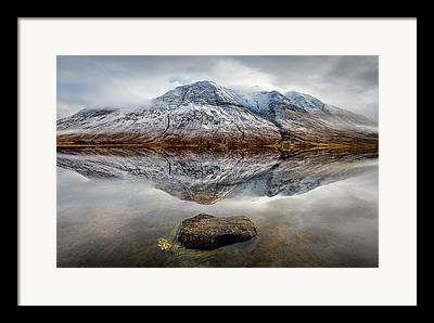 Lake Relections Framed Prints