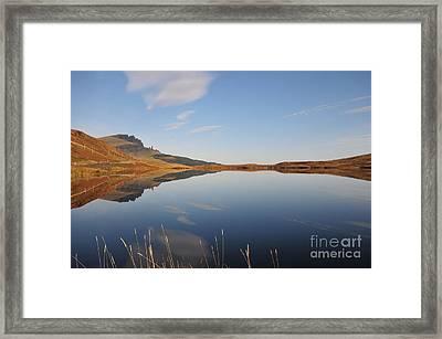 Loch Leatham Framed Print by Nichola Denny