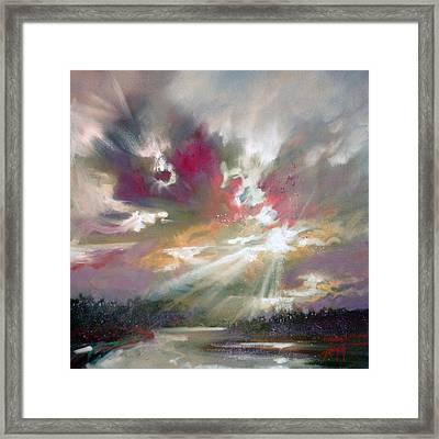 Loch Light Framed Print by Scott Naismith