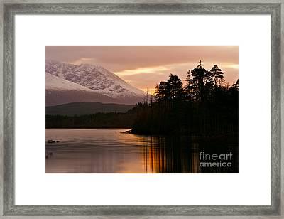 Loch Lochy Framed Print by David Bleeker