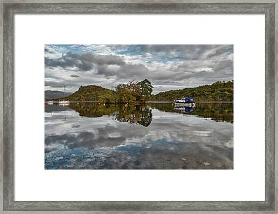 Loch Lomond At Aldochlay Framed Print