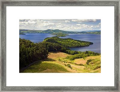 Loch Lomond From Conic Hill Framed Print by John McKinlay