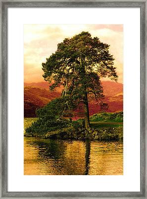 Loch Lomond Gloaming Framed Print by Rianna Stackhouse