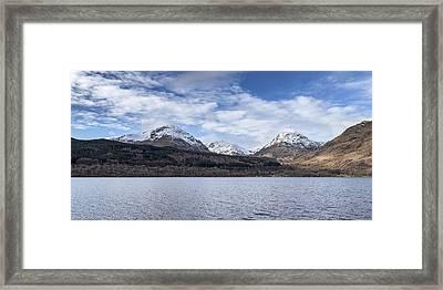 Loch Lomond In The Trosachs Framed Print by Jeremy Lavender Photography