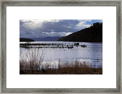 Framed Print featuring the photograph Loch Lomond by Jeremy Lavender Photography