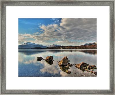 Loch Lomond Framed Print by Fiona Messenger