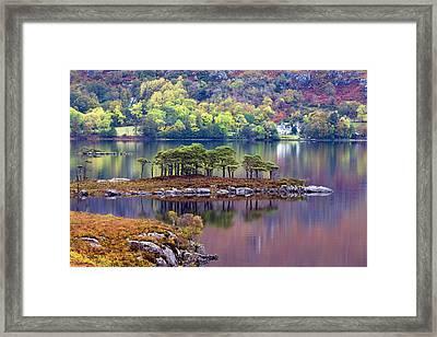Loch Maree In Autumn Framed Print
