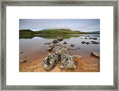 Loch Nah Achlaise Framed Print by Nichola Denny