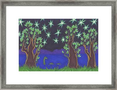 Loch Ness Night Framed Print by James Davidson