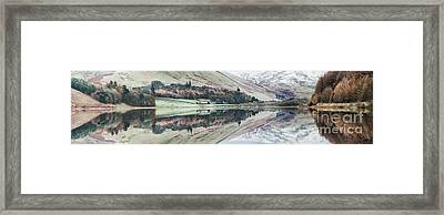 Loch Of The Lowes Panoramic Framed Print by Tim Gainey