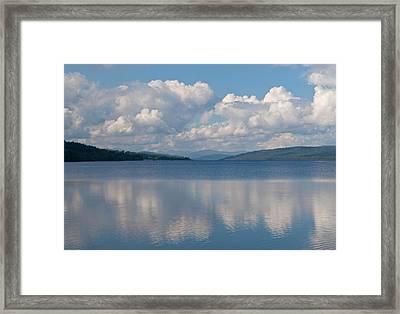Loch Rannoch Clouds Framed Print by Chris Thaxter