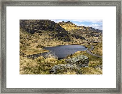 Loch Restil From Rest And Be Thankful Framed Print