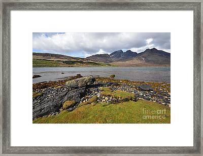 Loch Slapin Framed Print by Nichola Denny