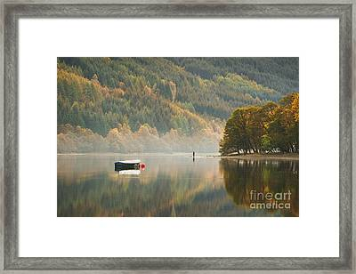 Loch Voil - Scotland Framed Print by Rod McLean