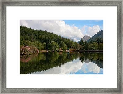 Lochan Glencoe Framed Print
